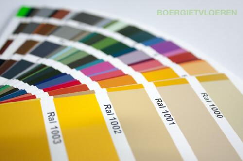 Coating kleuren